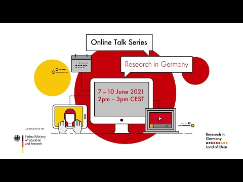 Online Talk Series: Do your research in Germany