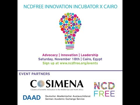 Watch the video about the COSIMENA NCDFREE Innovation Incubator here: