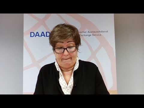 Congratulations from the DAAD Secretary General Dr. Dorothea Rüland