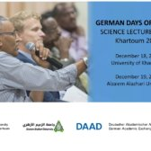 Science Lecture Sudan 2017